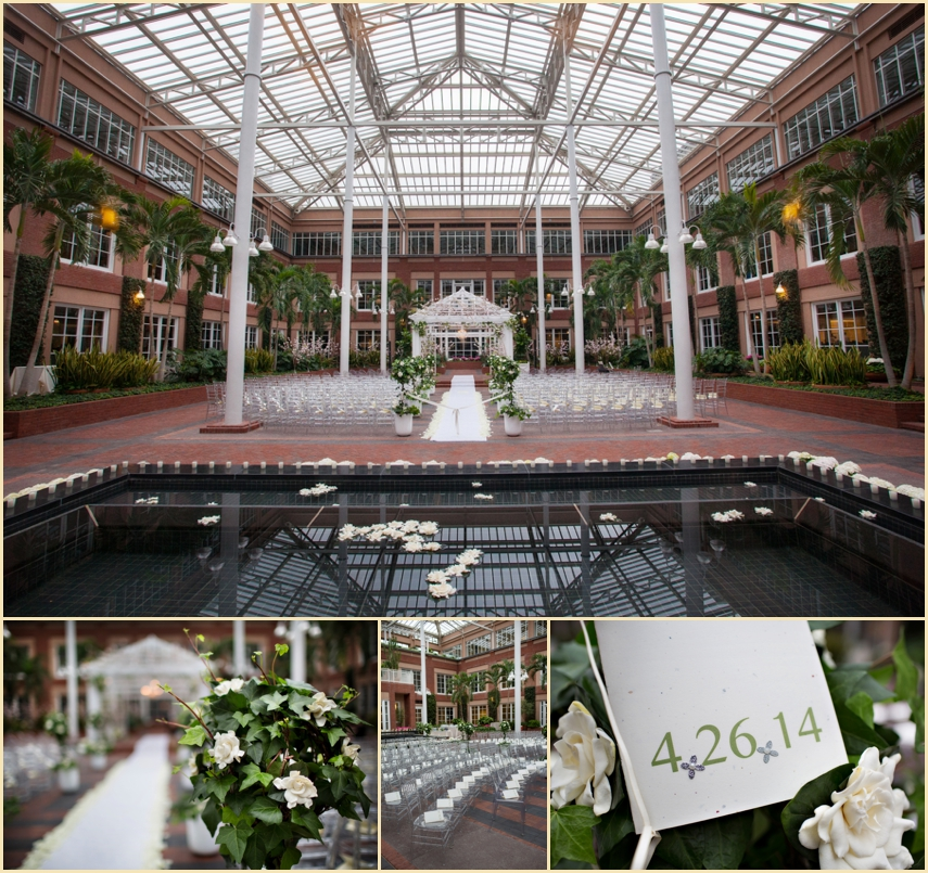 Indoor Atrium Garden Wedding Ceremony Meditech
