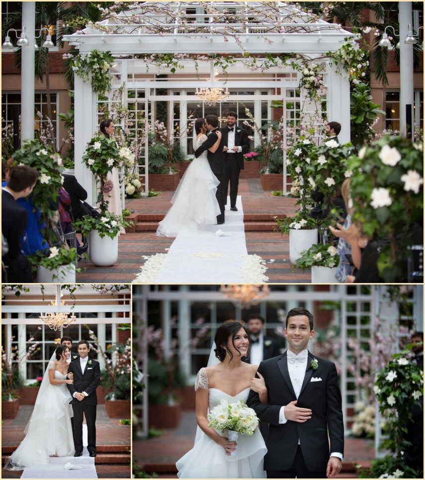 Person + Killian Photography Garden Inspired Wedding Ceremony