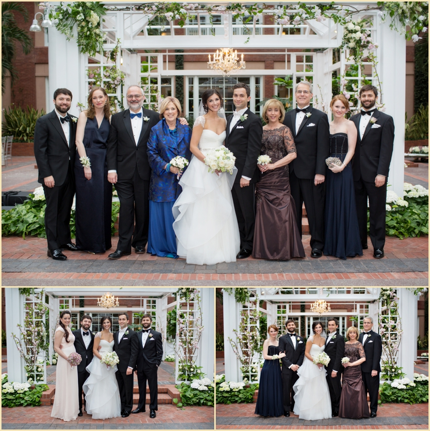 Bride and Groom Family Formals - Wedding Planning by Marrero Events
