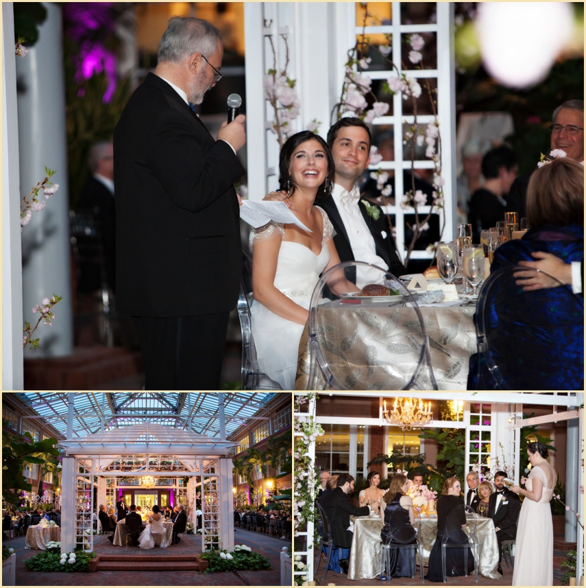 Evening Wedding Reception by Person + Killian Photography