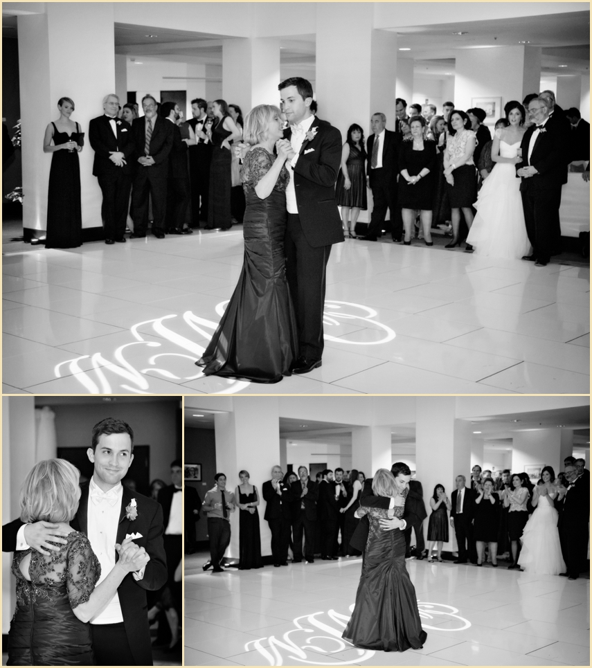 Wedding Parent Dances Custom Dance Floor and Lighting