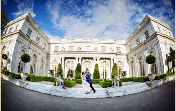 Newport Wedding Photography - Rosecliff Mansion Wedding of Marlena and Mark