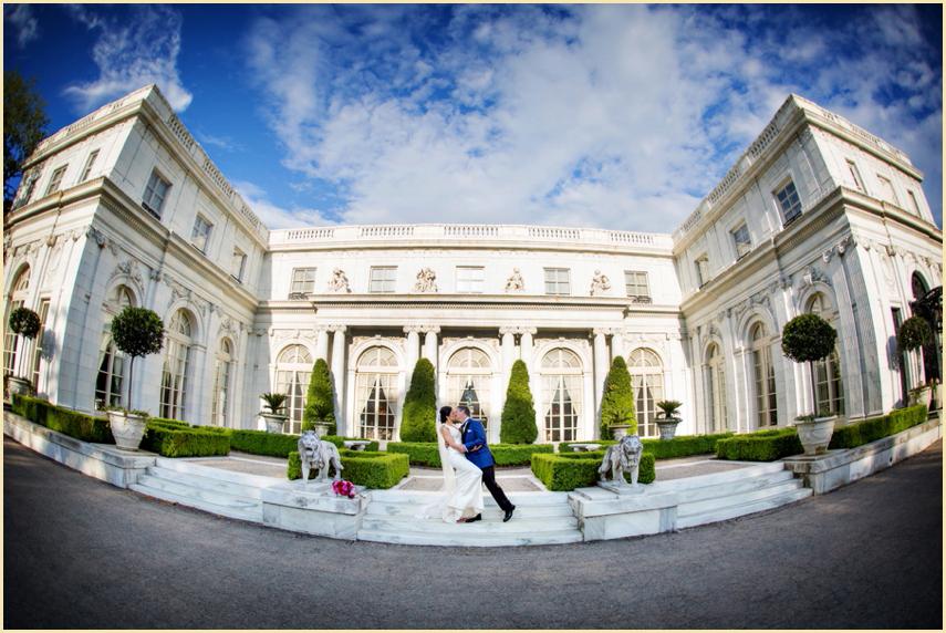 Newport Wedding Photoraphy At Rosecliff Mansion