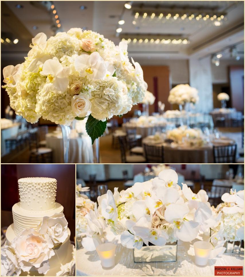 Boston Cakes To Remember Boston Elegant White Wedding Boston