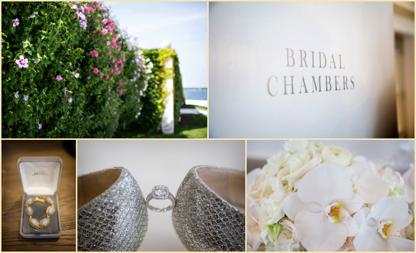 Belle Mer Newport Wedding Bridal Details