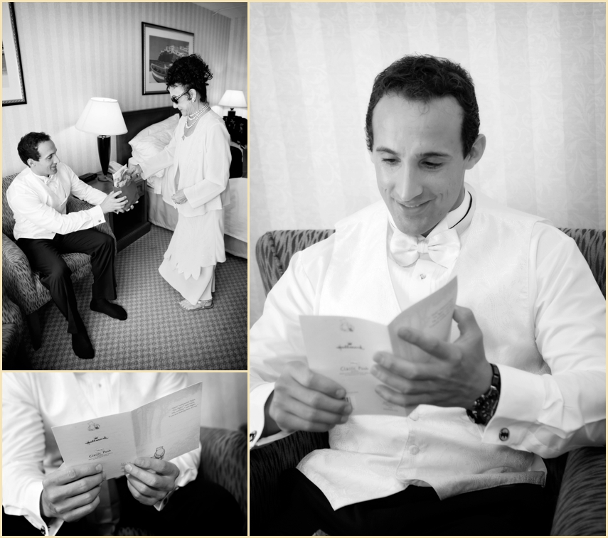 Newport Wedding Photography Groom Getting Ready