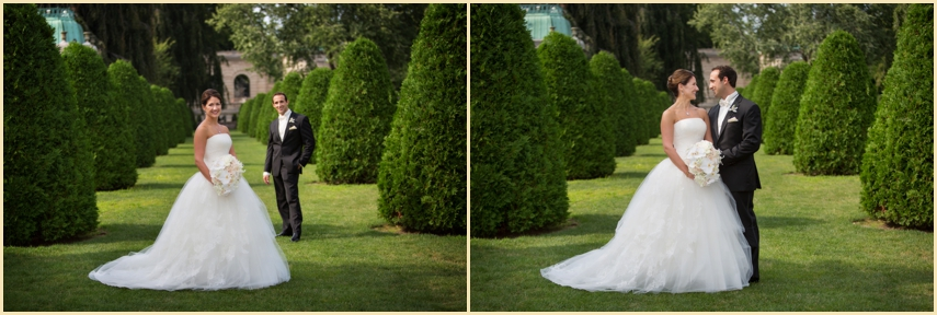 Wedding Photography at The Elms Bellevue Avenue Newport