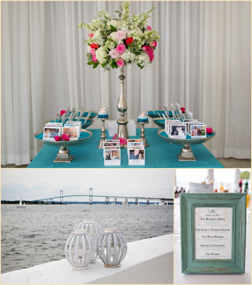 Belle Mer Newport Escort Cards And Drinks