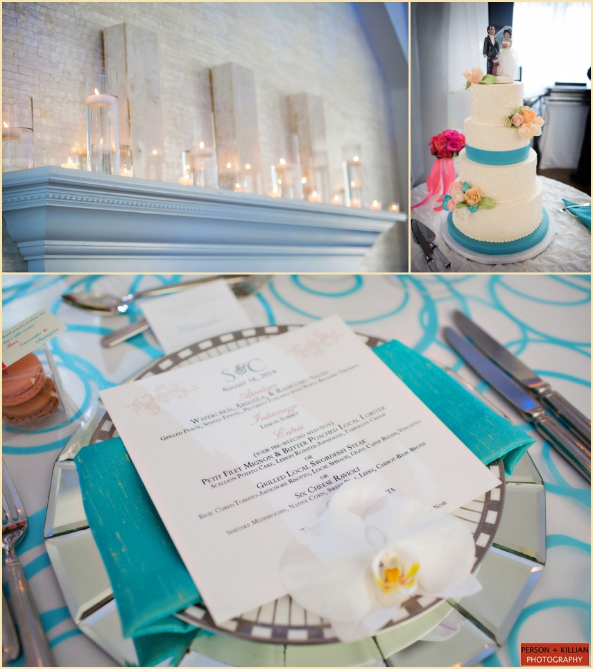 Belle Mer Newport Wedding Cake And Menu