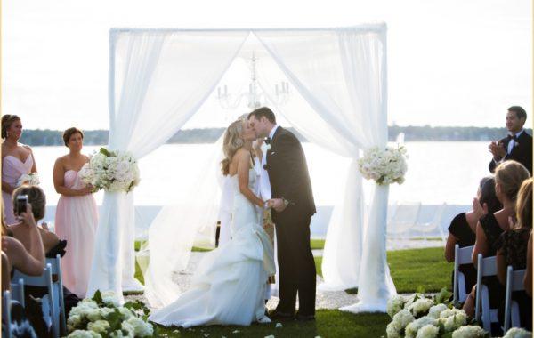 Chic Newport RI Wedding at Belle Mer | Modern and Romantic