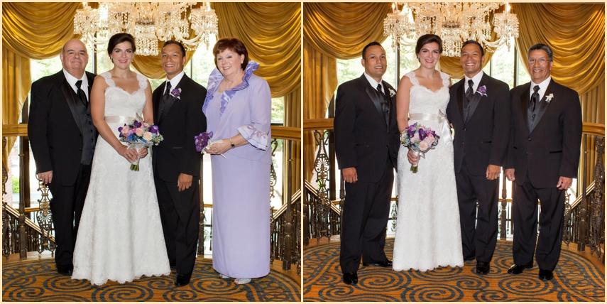 Four Seasons Hotel Boston Classic Family Wedding Portraits