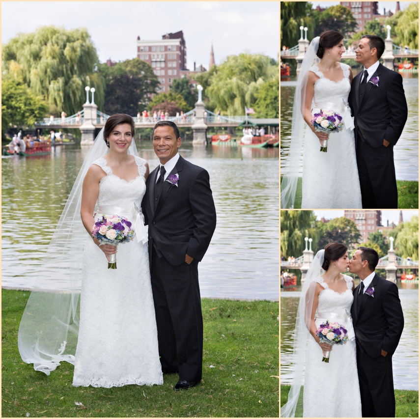 Four Seasons Hotel Boston Wedding - Boston Public Garden - Classic Wedding Photographs