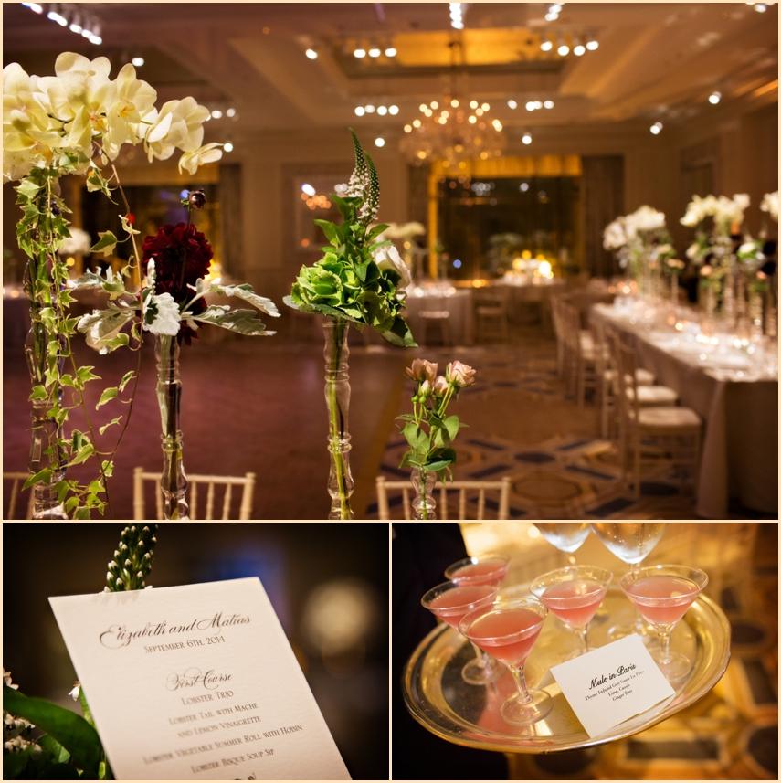Four Seasons Hotel Boston Wedding - Grand Ballroom Decor and details