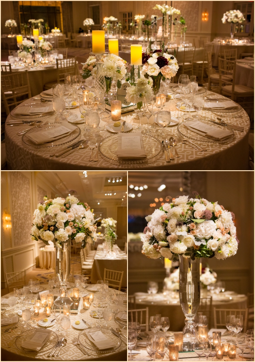 Four Seasons Hotel Boston Wedding Ballroom Decor and Design