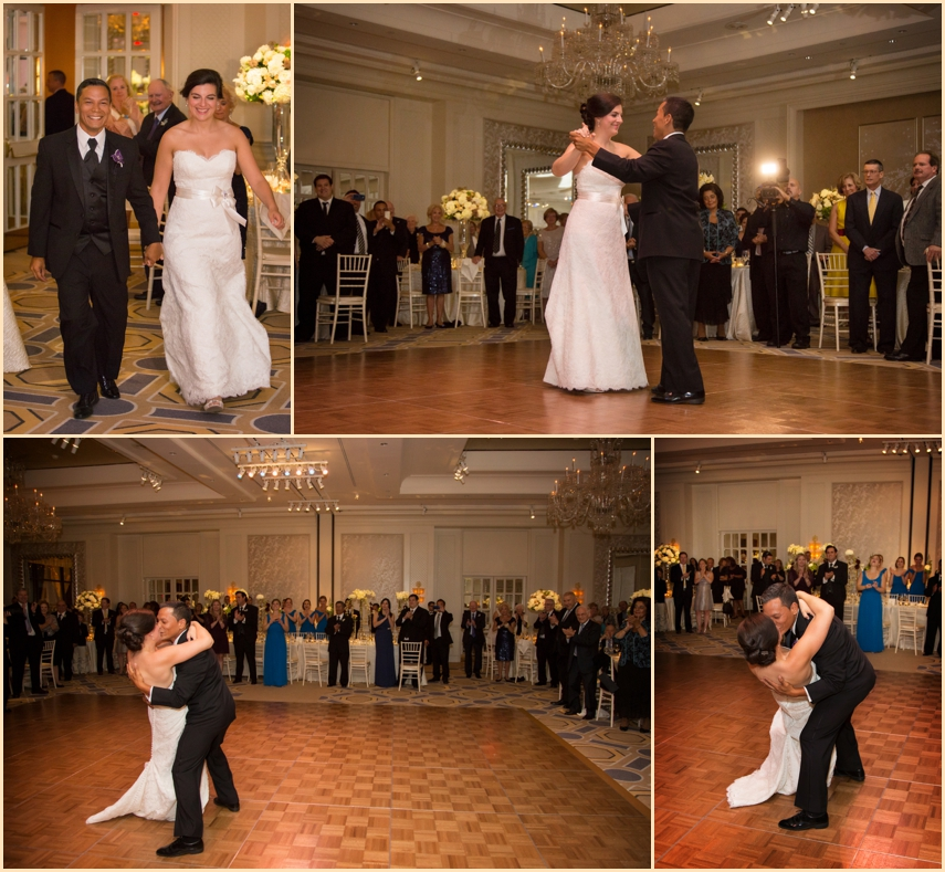 Four Seasons Hotel Boston Wedding Ballroom First Dance