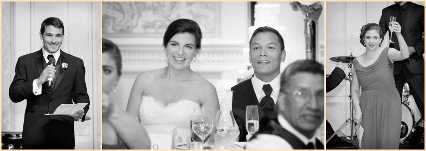 Four Seasons Hotel Boston Ballroom Wedding Reception