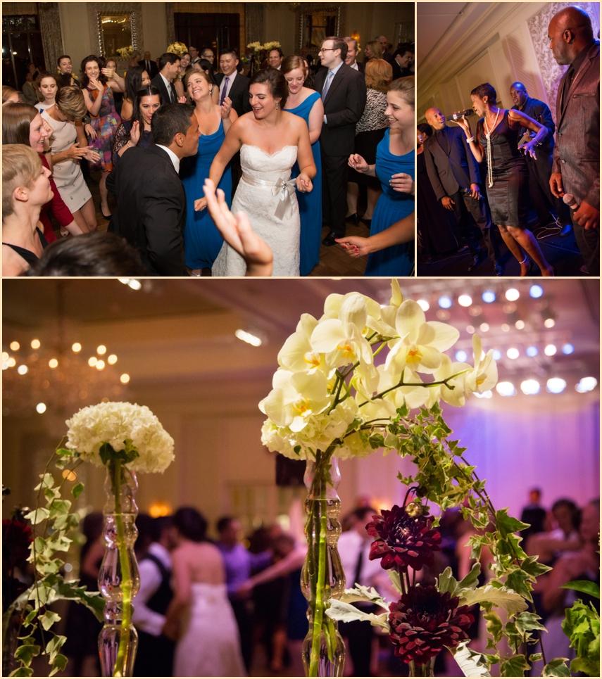 Four Seasons Hotel Boston Wedding Reception - NYC Wedding Band