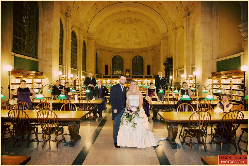 The Catered Affiar Boston Public Library Wedding BT 018