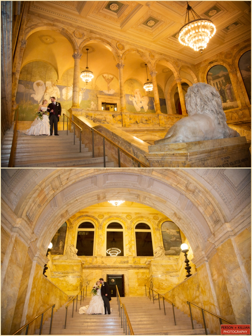 The Catered Affiar Boston Public Library Wedding BT 020
