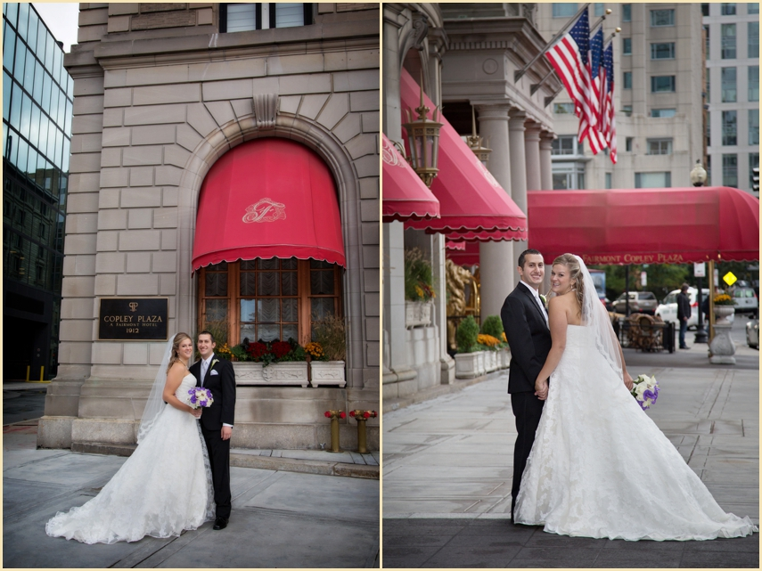Fairmont Copley Plaza Fall Wedding NJ 014