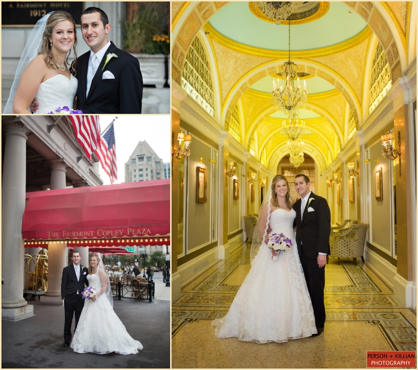 Fairmont Copley Plaza Fall Wedding NJ 016