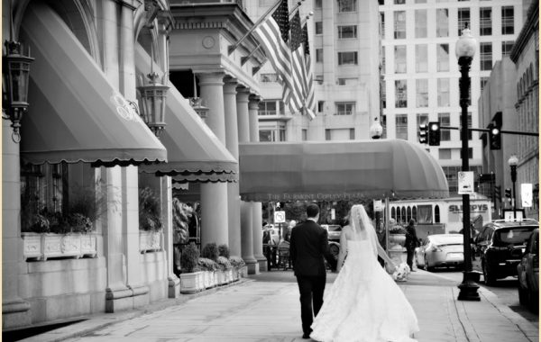 Fairmont Copley Plaza Boston wedding of Natalie + John
