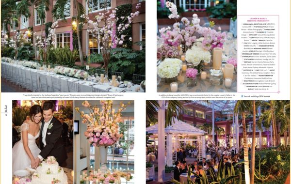 The Knot Magazine Real Wedding Feature