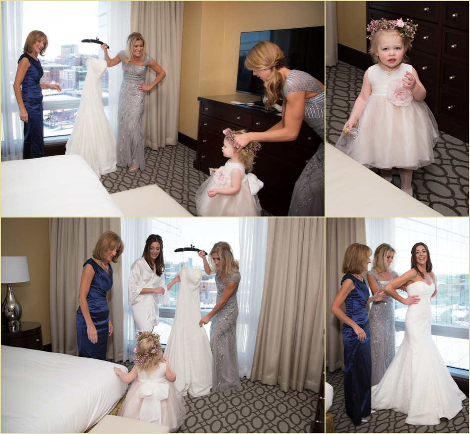 Intercontinental Boston Hotel Wedding