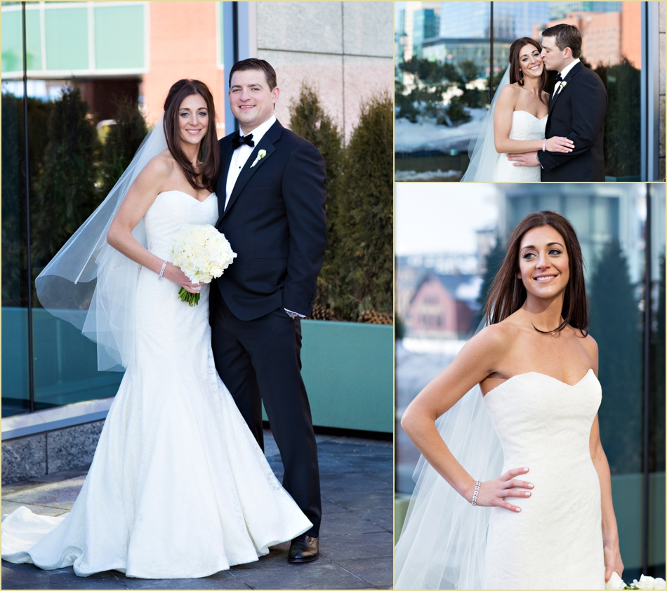 Intercontinental Boston Winter Wedding