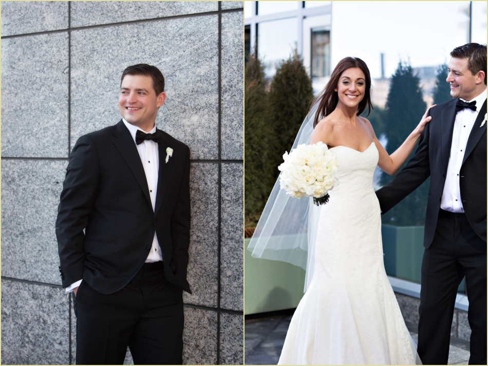 Intercontinental Boston Winter Wedding Formals