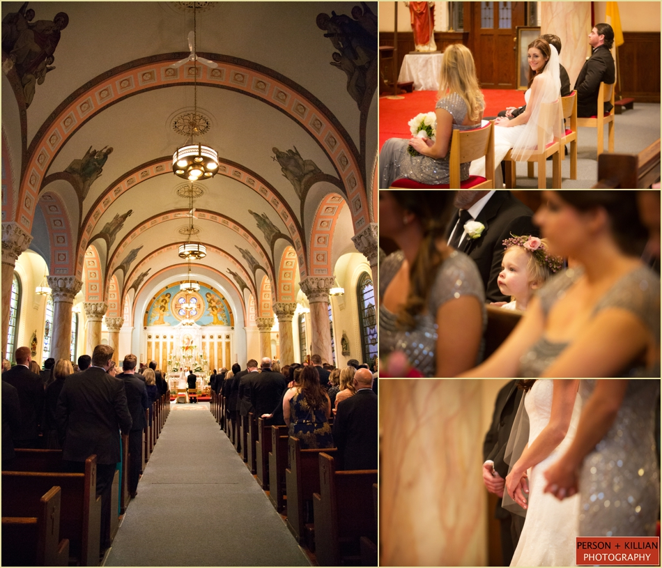 Sacred Heart Church Wedding Boston