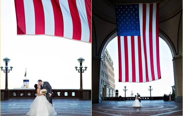 A Classic Nautical Boston Harbor Hotel Wedding