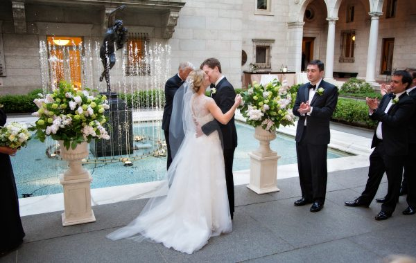 The Boston Public Library Wedding of Katie and Griffin