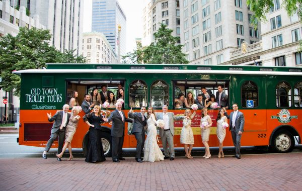 Downtown Boston Wedding with Longwood Events at the State Room
