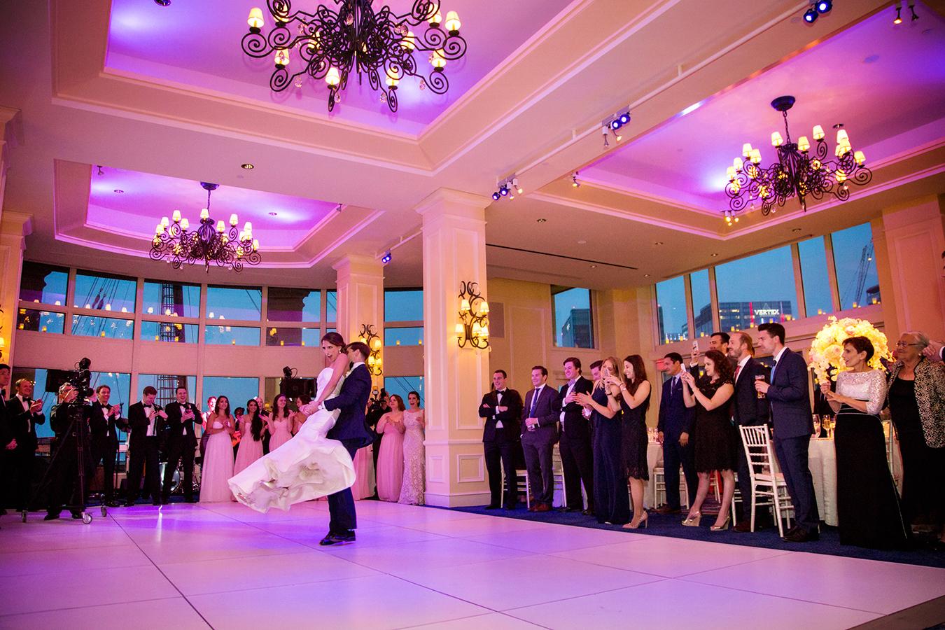 Boston Harbor Hotel Spring Wedding Cm 013 Boston Wedding Photographer