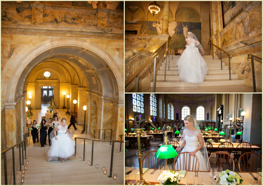 Copley Square Boston Public Library Wedding 005