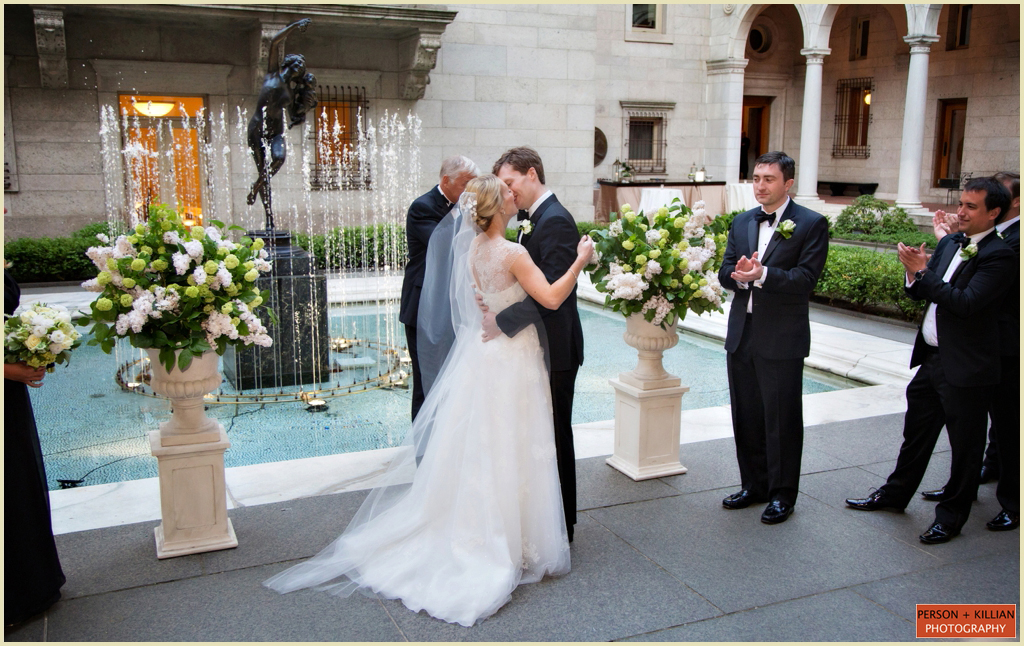 Copley Square Boston Public Library Wedding 016