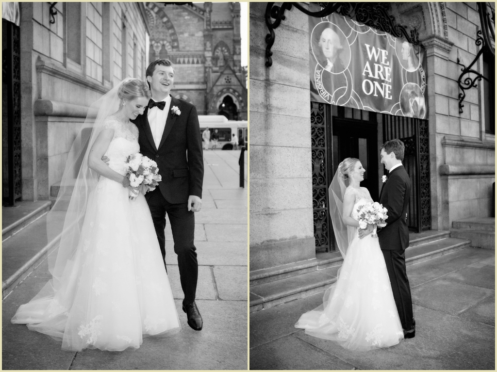 Copley Square Boston Public Library Wedding 020