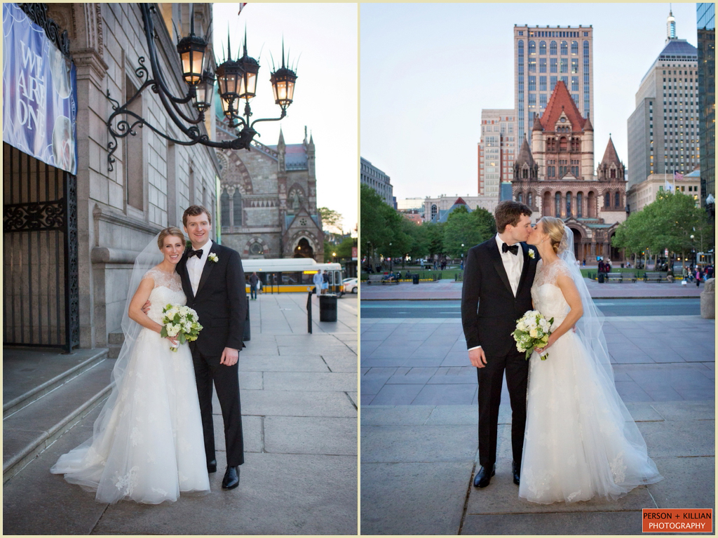 Copley Square Boston Public Library Wedding 021