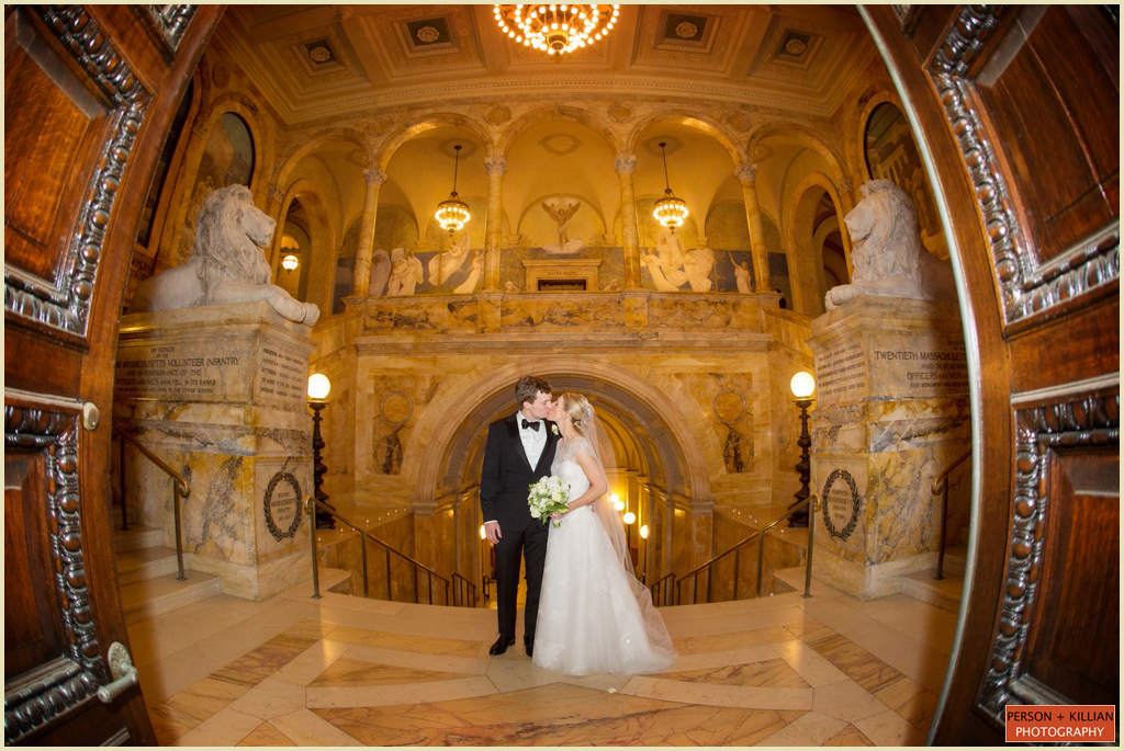 Copley Square Boston Public Library Wedding 025