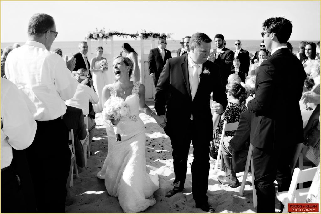 Beach Wedding Ceremony Photography