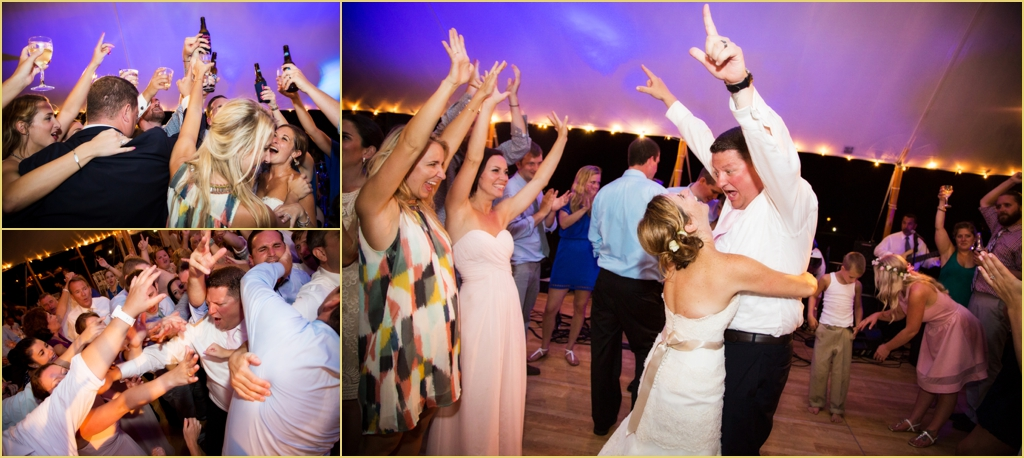 Cape Cod Wedding Reception Photography
