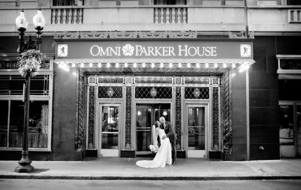 North End Wedding Ceremony with Omni Parker House Reception