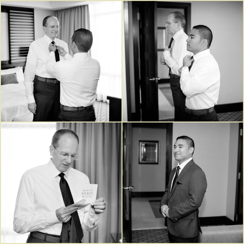 Groom Preparations Photography