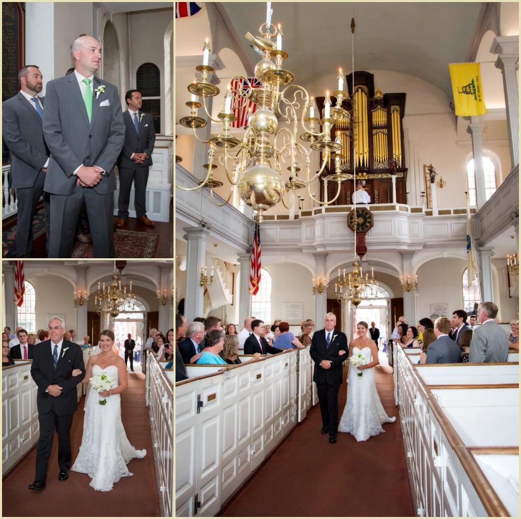 North End Wedding Ceremony