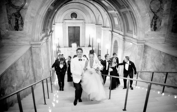 The Elegant Boston Public Library Wedding of Kailey + Nick
