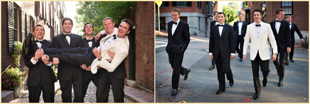 Boston Wedding Groomsmen