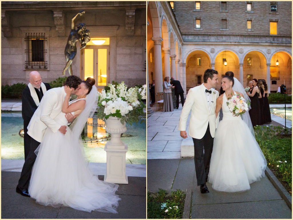 Boston Public Library Courtyard Ceremony