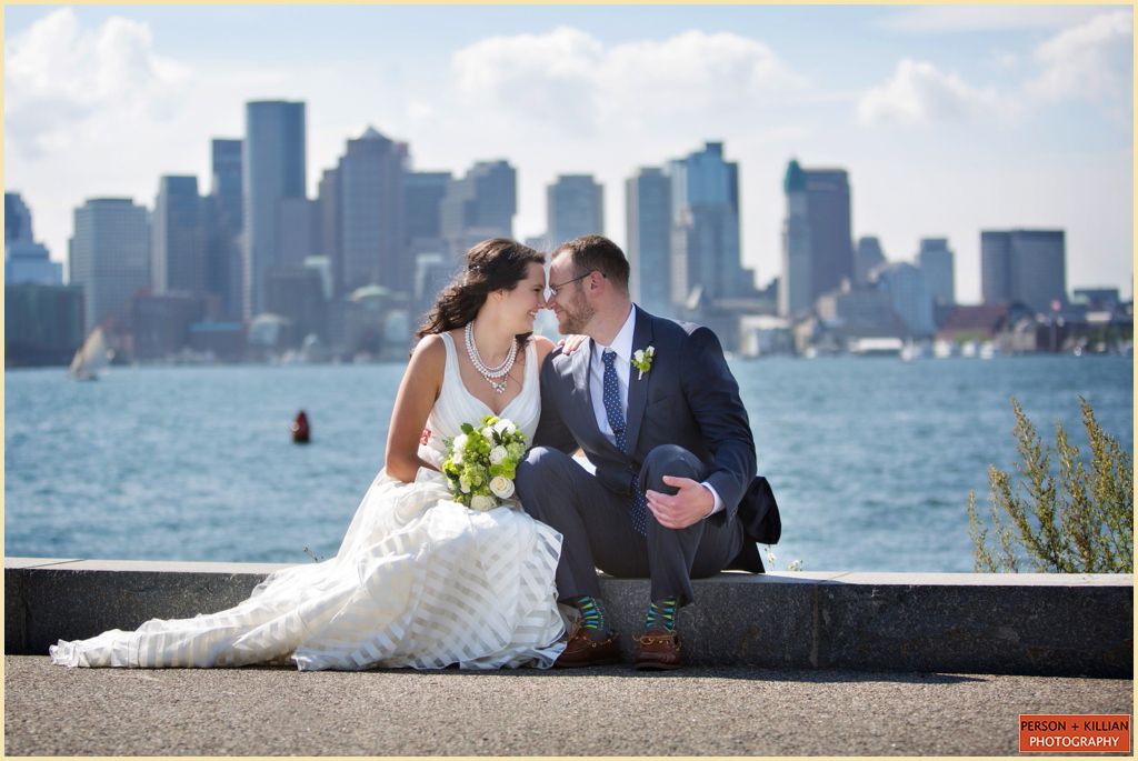 Hyatt Boston Harbor Oceanside Wedding