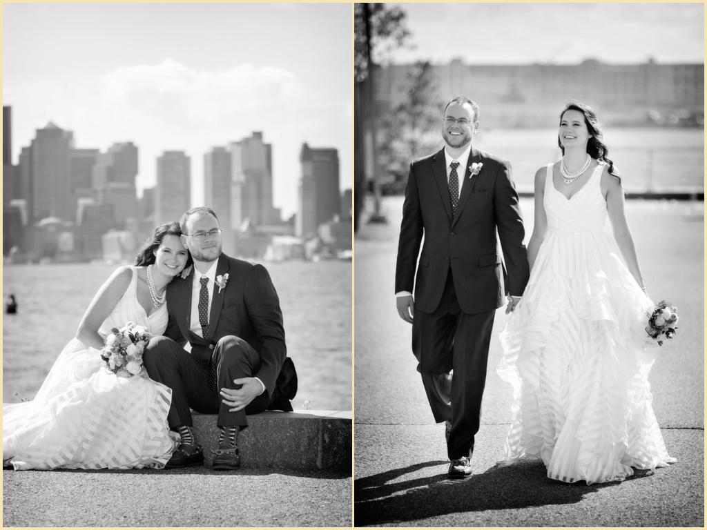 Boston Harbor Wedding Photography